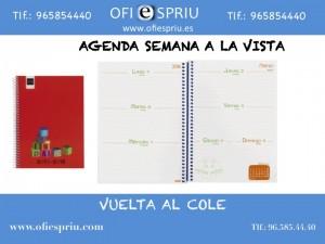Agenda escolar niños