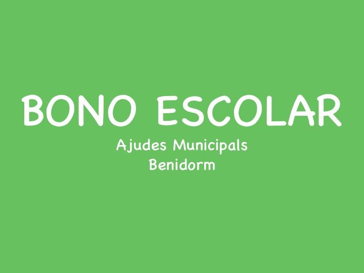 Bono Escolar